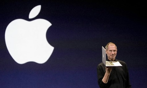 "Steve Jobs pristatė ""MacBook Air"""