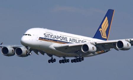 """""""Airbus A380"""" leidžiasi"""