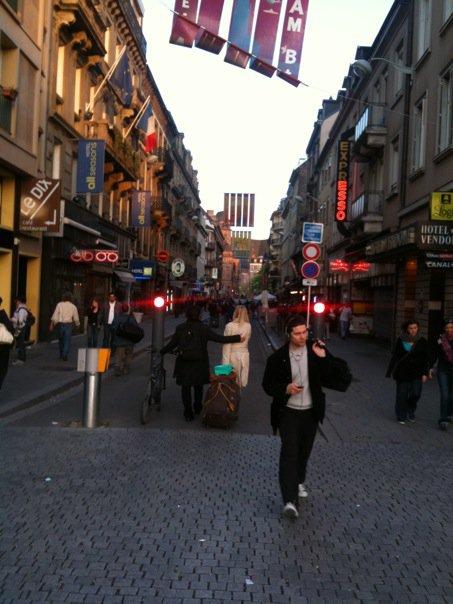 """""""Strasbūras. Čia daugiau Europos, net yra žurnalų neprancūziškai."""""""