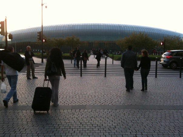 Strasbūro geležinkelio stotis man primena Šiaulių areną
