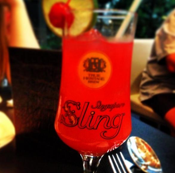 """Mano Singapore Sling. Singapūre, bet ne """"Raffles""""."""